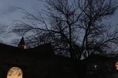 Dämmerung im Kloster