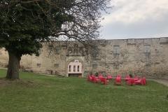 Innenhof Kloster Pernegg