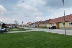 Stille auch im Dorf Pernegg