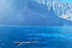 Swimming Napali Coast