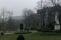 Lainzer Tierpark im Nebel